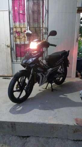 Vendo moto shineray por urgencis