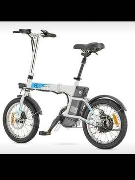 Bicicleta electrica plegable auteco NUEVA