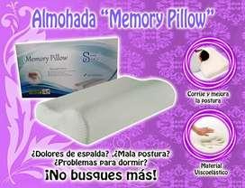"""Almohada """"Memory Pillow"""""""