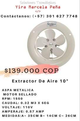"""Extractor de Aire 10"""""""