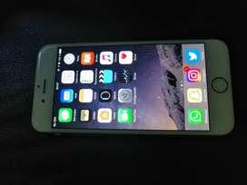 Iphone 6 en impecabre estado con batería nueva permuto