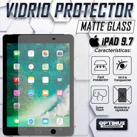 Vidrio Templado Cristal Screen Protector Matte Glass Anti Reflejo Efecto de papel para Tablet iPad 9.7 / iPad Air / 6 /5