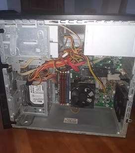 CPU de Mesa HP Pavilion Completo.