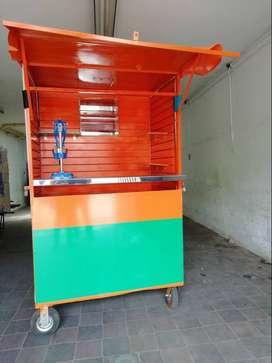 carro para  venta de naranjas u otros