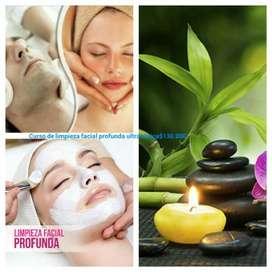 Curso de Limpieza Facial Profunda personalizadas & Online