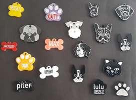 Placas para mascotas