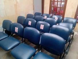 Venta sillas sala de espera x4
