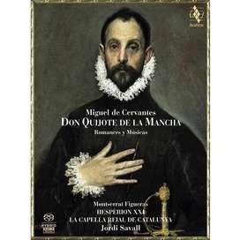 CD & Libro - Don Quijote de la Mancha - Romances y Músicas - Jordi Savall & Hesperion XXI.
