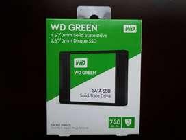 Disco Duro Solido 240GB Western Digital, Nuevo.
