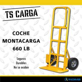 Coche Montacarga Amarillo 660 Lb