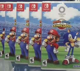 Mario & Sonic Olympic Games Nintendo Switch Nuevo Sellado stock