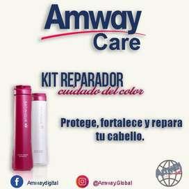 Productos para el cabello belleza plancha cuidado shampoo acondicionador amway productos de cuidado aseo personal