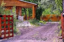 oh84 - Cabaña para 1 a 6 personas con cochera en Malargue