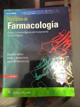 """Venta de libro ORIGINAL """"Principios de farmacologia""""-David E.Golan"""
