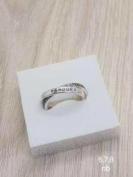 anillos PANDORA en plata PARA DAMA ALTA CALIDA FINOS