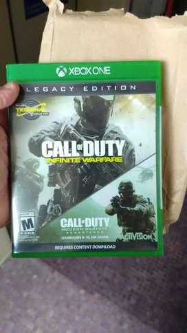 Call of duty xbox one (perfecto estado)