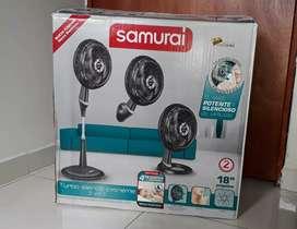 Ventilador Samurai 3 en 1 Turbo Silence Extreme