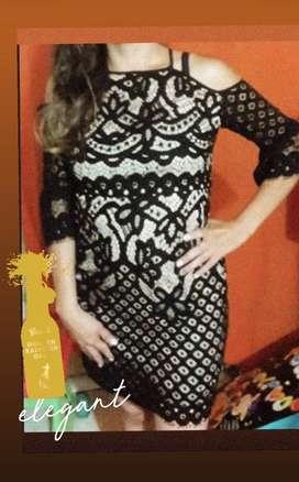 Vestido de gala marca Emamoda París, Talla M