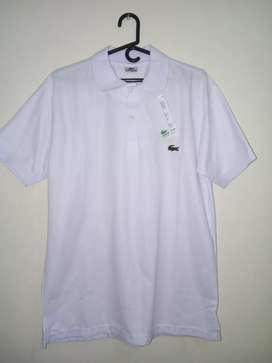 Camisa Lacoste blanca