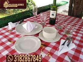 Alquiler de sillas, mesas, carpas, menaje y demás mobiliario para eventos en Tunja y  Boyacá