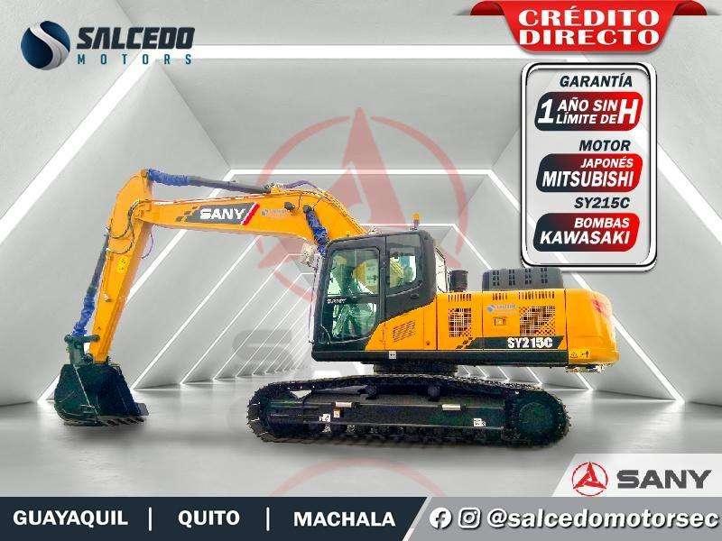 EXCAVADORA SANY SY215C 0