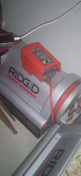Roscadora electrica ridgid