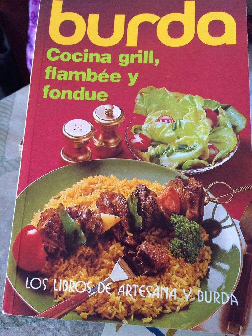 Libro Burda Cocina grill, flambee y fondue 0