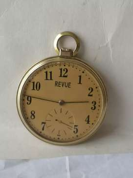 Antiguo y hermoso reloj de bolsillo REVUE