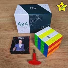 Mgc 4 Moyu Yj Cubo Rubik 4x4 Magnetico Velocidad Stickerless