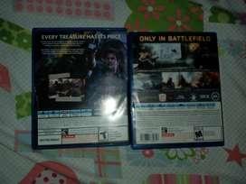 Vendo dos  juegos  de  play  4