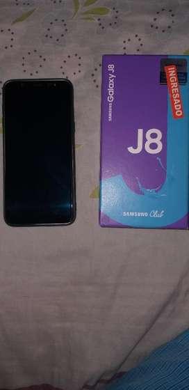 Vendo Samsung J8 1 Mes de Nuevo