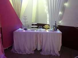 Alquilo salón para eventos DAHIANA