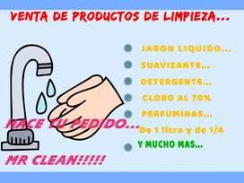 Venta de productos de limpieza y bazar