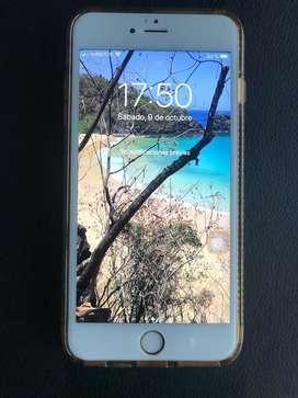 iPhone 6s Plus 32 GB Oro + Protector de pantalla Templado + Carcasa tech21 transparente made USA, en cajas originales