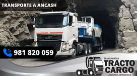 Transporte a Ancash, Carga a Ancash