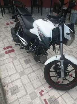Económica moto, RTX unishock 150