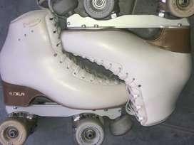 Vendo patines de competición impecables poco uso