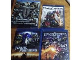 Transformers Trilogia Blu-ray