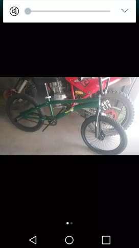 Bicicleta de salto rodado 20