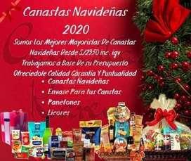 CANASTAS NAVIDEÑAS 2020