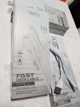 Cable Usb Tipo C Carga Rapida 2.1a