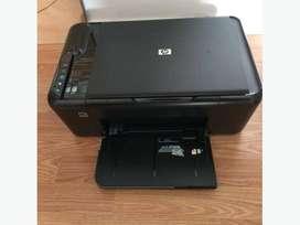 Impresora hp deskjet f4480 impecable nueva liquido!!
