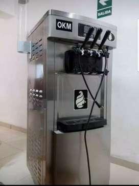 Maquina de helados suaves
