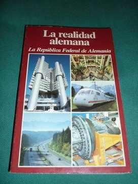 LA REALIDAD ALEMANA . REPUBLICA FEDERAL ALEMANIA AÑO 1988 ESTADISTICAS