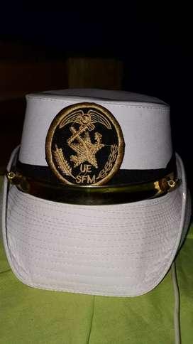 Un gorro de la Academia naval