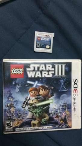 Star Warsiii Juego Nintendo3ds