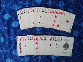 Baraja de cartas para Poker u otros juegos