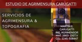 ESTUDIO DE AGRIMENSURA