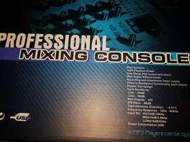 Consola Mezcladora Profesional USB AUDIOPRO MP-4B