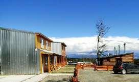 tz72 - Cabaña para 2 a 6 personas con cochera en Tolhuin